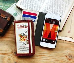 Image of Vintage iphone 5 Läder case