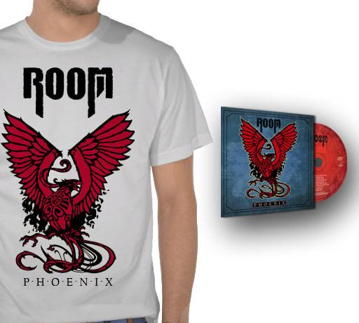 Image of Red Phoenix T-Shirt + CD Phoenix [Envío gratis!!]
