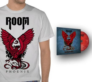 Image of Red Phoenix T-Shirt + CD Phoenix [Envío gratis!!]