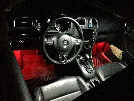 pc complete interior license plate led kit error  fits  volkswagen mk golf gti