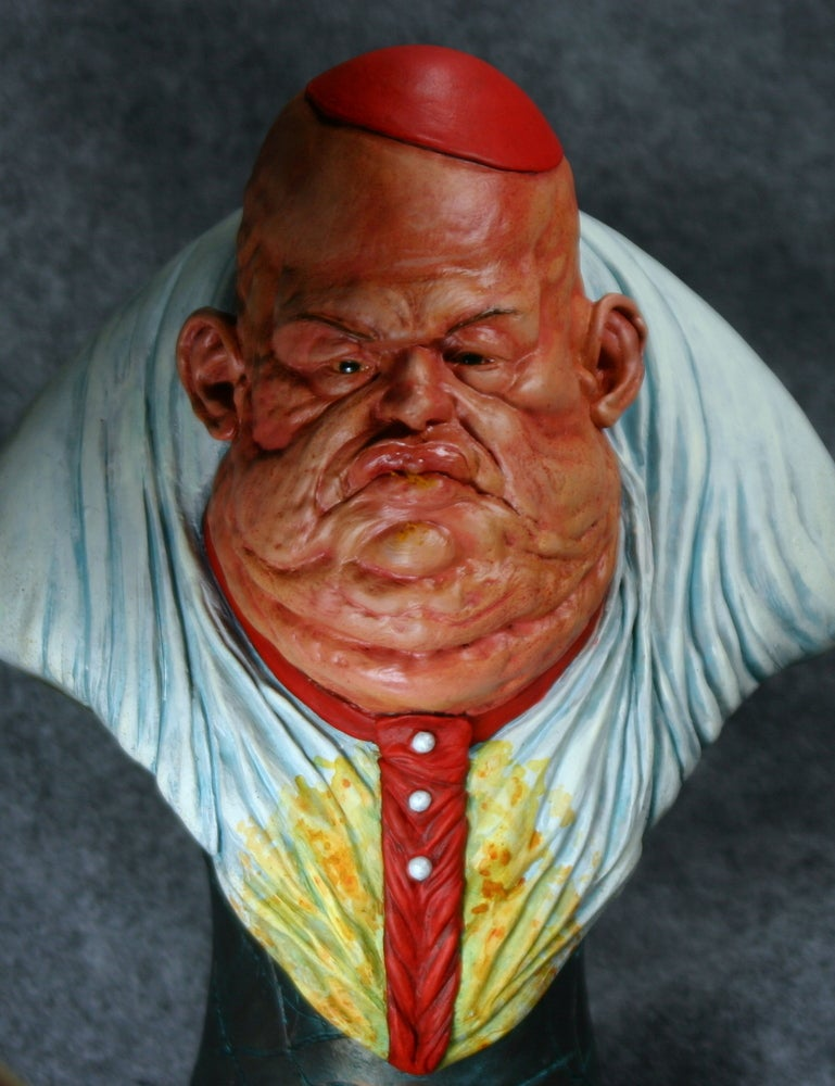 Image of Allfather D'Aronique resin bust sculpted by Norm Meyers