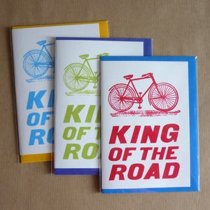 Image of King Of The Road card