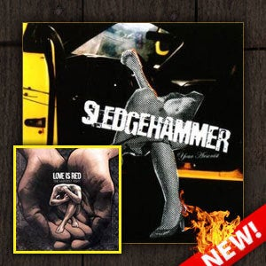 Image of Sledgehammer / Love Is Red - CD Package Deal