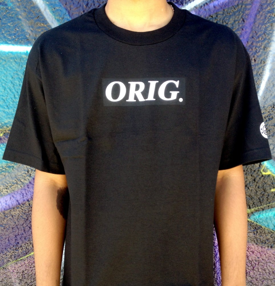 Image of ORIG BOX-LOGO (BLACK)