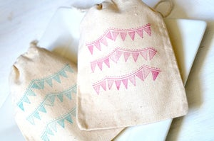 Image of Beautiful Bunting Favour Bags