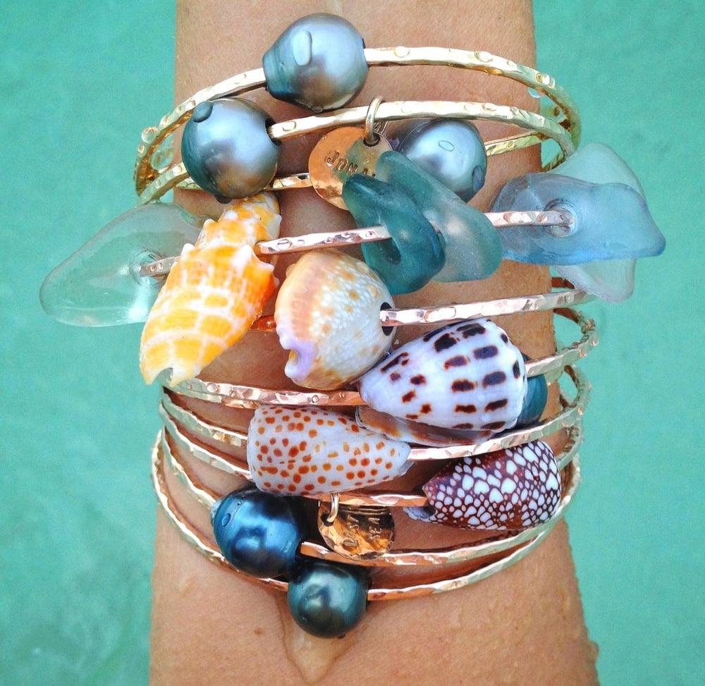 Seashell Bangle