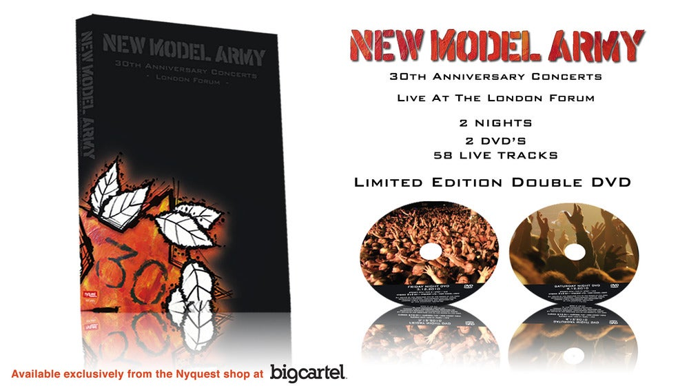 New Model Army 30th Anniversary Live DVD
