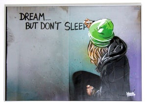 Image of Dream but don't sleep.
