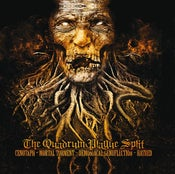 Image of 4 WAY SPLIT CD - THE QUADRUM PLAGUE