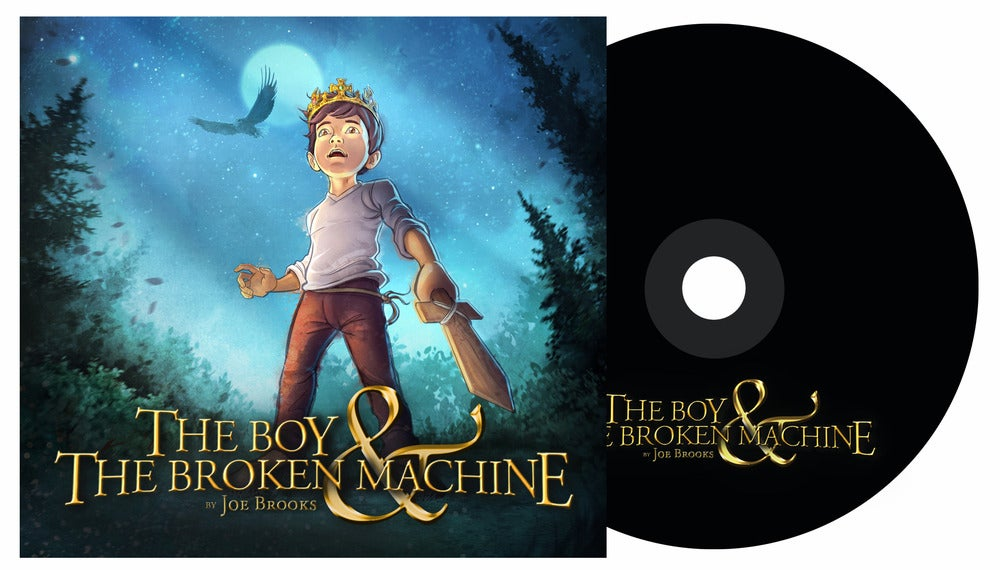 Image of The Boy & The Broken Machine [2013]