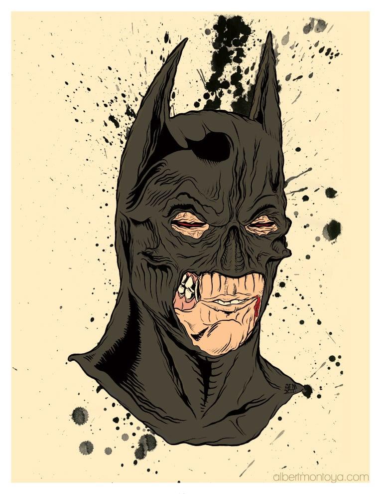 "Image of Print ""Dark Master Wayne"""