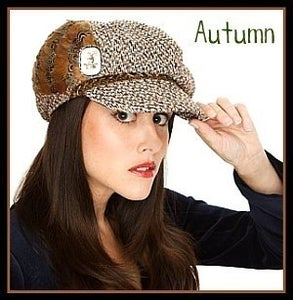 "Image of ""Autumn"" Newsboy Cap"