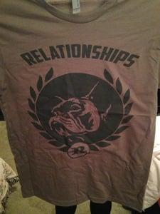 Image of Relationships Boston Terrier Shirt