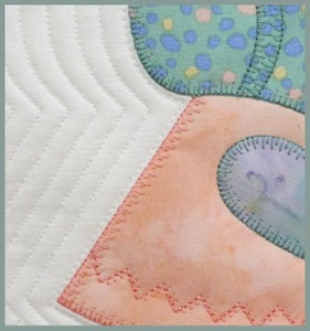 Image of Sunbonnet Sue Quilted In The Hoop