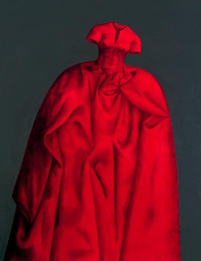 Image of 'Red Dress' *EXCLUSIVE* by Claire Douglass