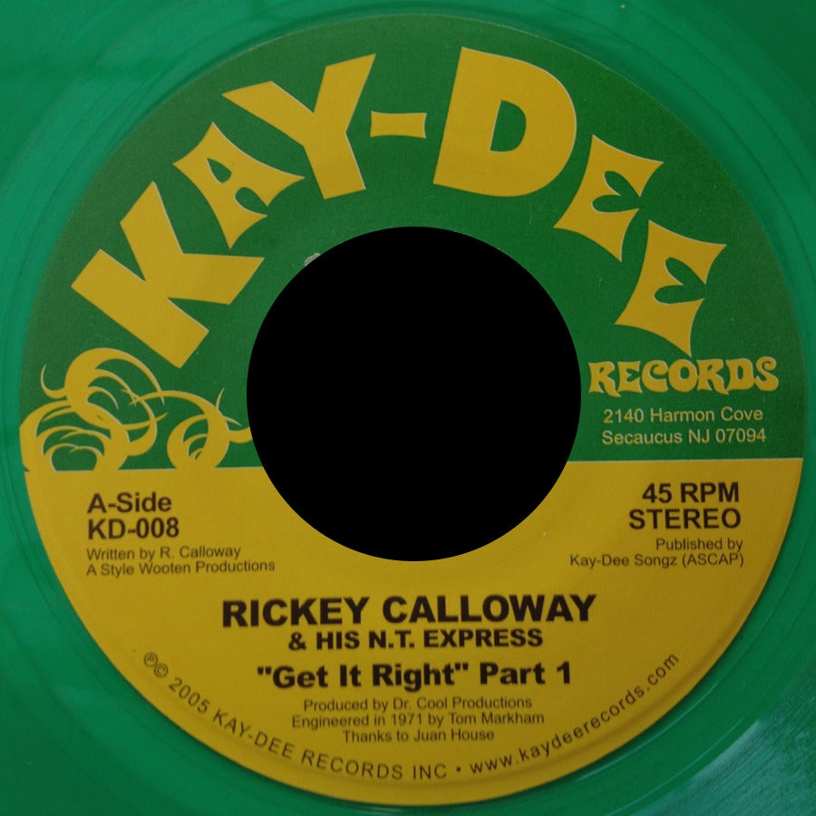 Image of KD008-R. CALLOWAY LIMITED EDITION