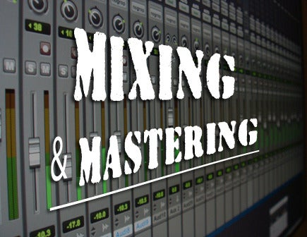 Image of Audio Mixing & Mastering Services