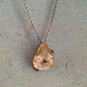 Image of Small Geode Pendant