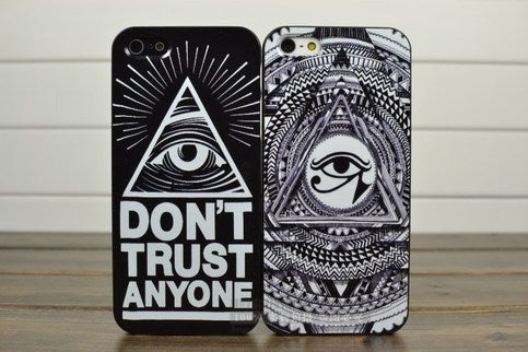 Image of [GRDX02106]EYE TOTEM HARD COVER CASE FOR IPHONE 4/4S/5