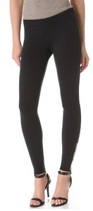Image of Binya Ankle Zip Legging In Black