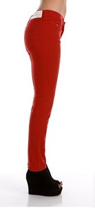 Image of Kochi Colored Low Rise Skinny Jean In Red