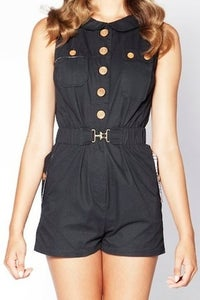 Image of Dear Creatures Patch Romper