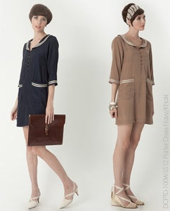 Image of Dear Creatures Porter Dress (Khaki)