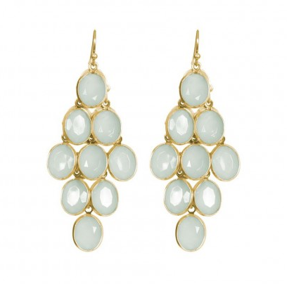 Image of Emma Earrings in Mint
