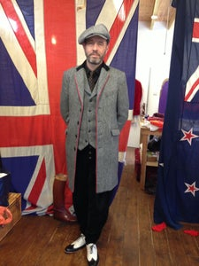 """Image of The """"Jay B"""" single breasted overcoat"""