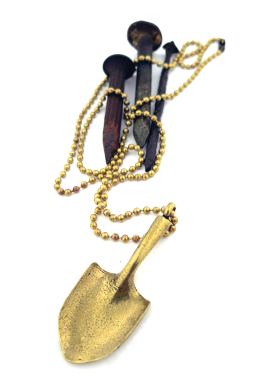 Image of The Grave Digger, Shovel-Head Necklace
