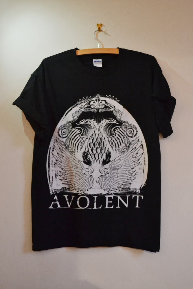 "Image of Avolent ""Two Head"" Black Tee"