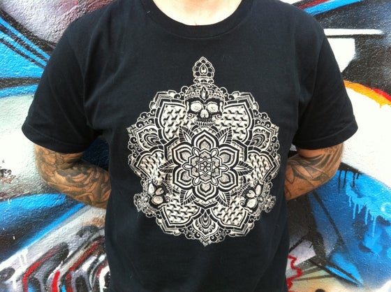 Image of Skull Mandala T-Shirt