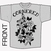 Image of Cornered - Skull Shirt