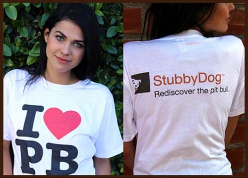 Image of <b>I ❤ PB t-shirt</b>