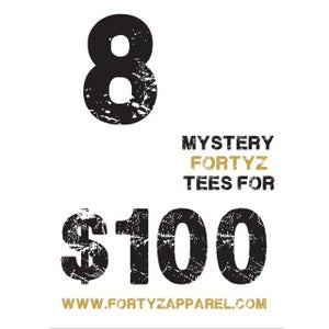 """Image of FORTYZ  """"8 MYSTERY TEE"""" BOX"""