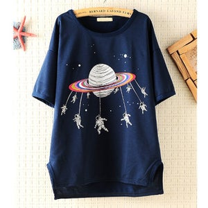 Image of Space Shuttle Loose T-shirt
