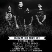 Image of BRISBANE - TICKET Senses Fail [7th August 2013]