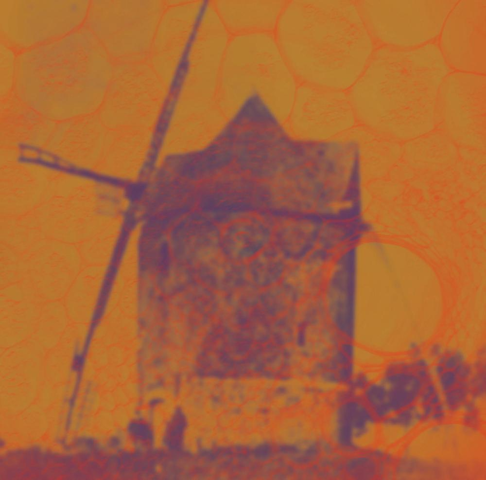 "Image of The Asteroid # 4 - 'The Windmill of the Autumn Sky' Ltd 12"" with download card"