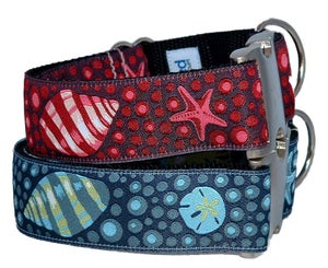 Image of Under The Sea - Dog collar in the category  on Uncommon Paws.