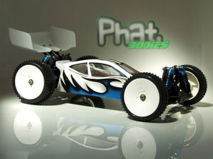 Image of Phat Bodies 'BOLT' for Losi Mini-8ight Carisma GTB Schumacher LC Racing EMB-1