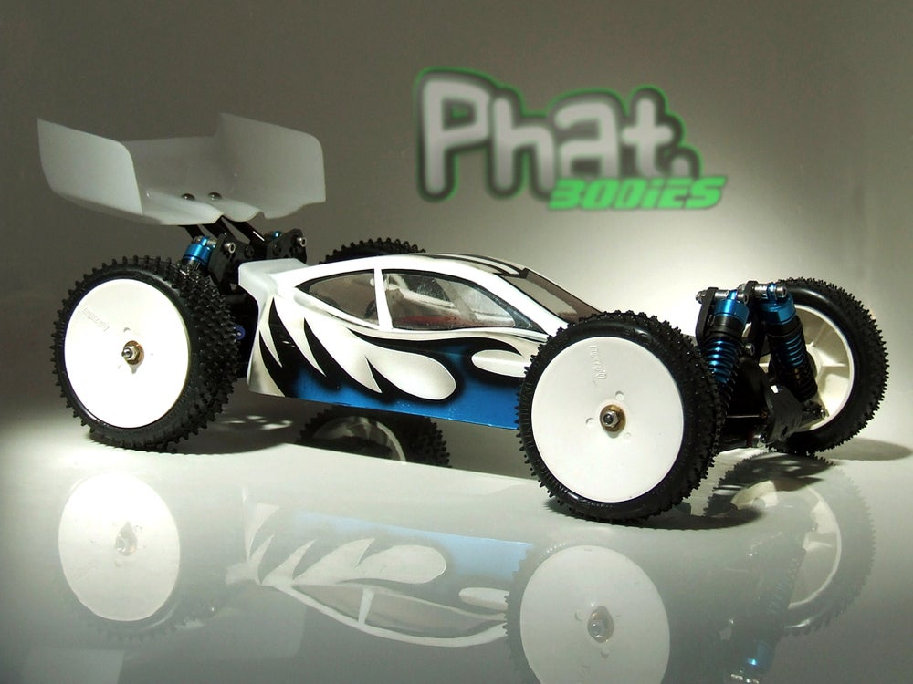 Image of Phat Bodies - BOLT Bodyshell for Losi Mini 8ight, Associated Reflex 14B, LC Racing EMB-1