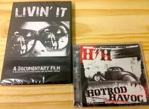Image of CD and DVD value pack (ANY DVD) Plus HH/TWT Soundtrack