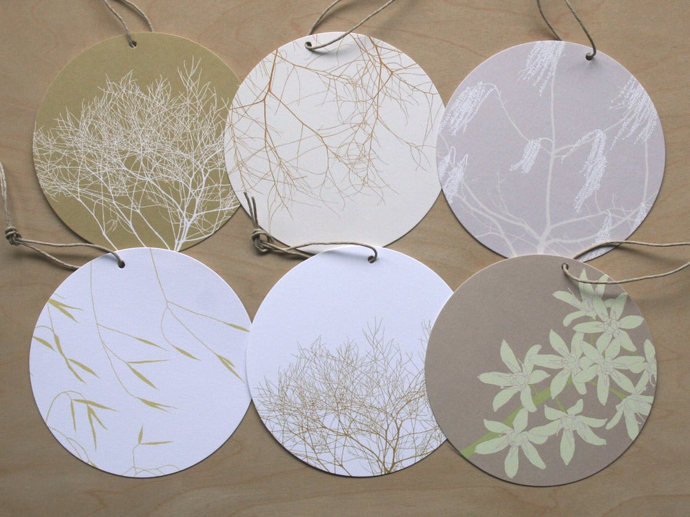 Image of Circle Tag - Pack of 6 - A