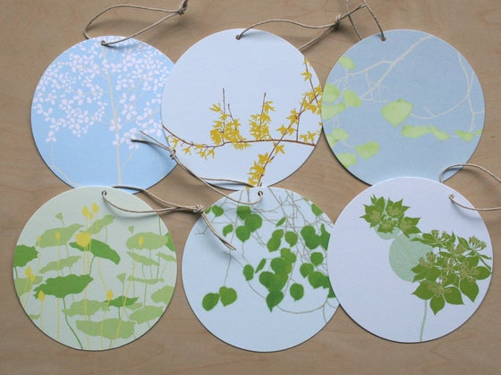 Image of Circle Tag - Pack of 6 - E