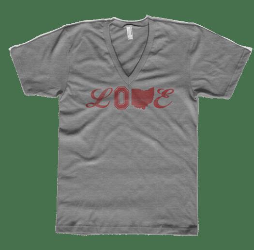 Image of Ohio Love Tri-Blend