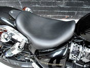 Image of TRIUMPH SPEEDMASTER AMD AMERICA MAVERICK LOWRIDER BLACK LEATHER SEAT ALL YEARS