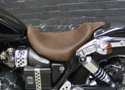 Image of TRIUMPH SPEEDMASTER AND AMERICA MAVERICK LOWRIDER DISTRESSED BROWN LEATHER SEAT ALL YEARS