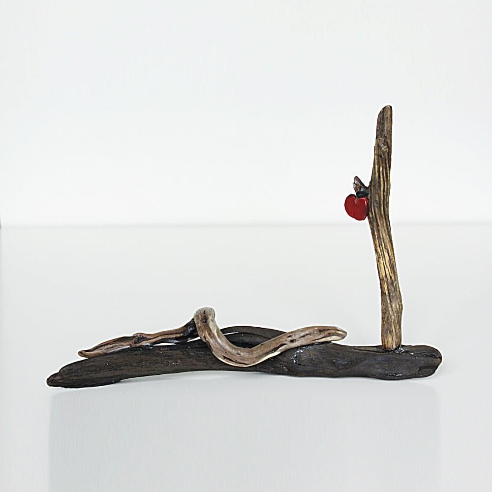 Image of Forbidden Fruit - Driftwood Sculpture