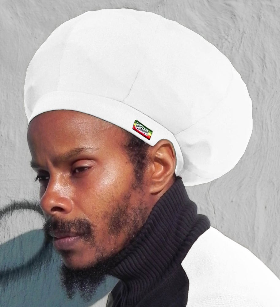 Image of Jah Roots Stretch Hats (White)