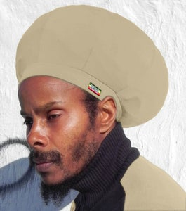 Image of Jah Roots Stretch Hats (Khaki)